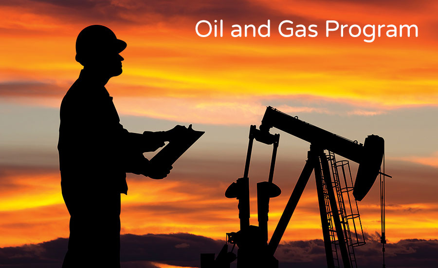 oil and gas program