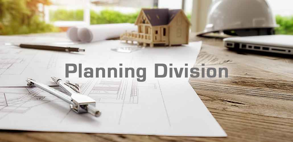 Welcome to Planning Division