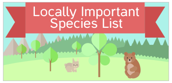 Locally Important Species