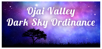 Ojai Valley Dark Skies Ordinance